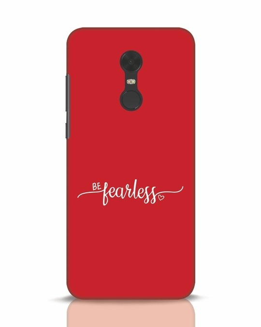 Shop Be Fearless Xiaomi Redmi Note 5 Mobile Cover-Front
