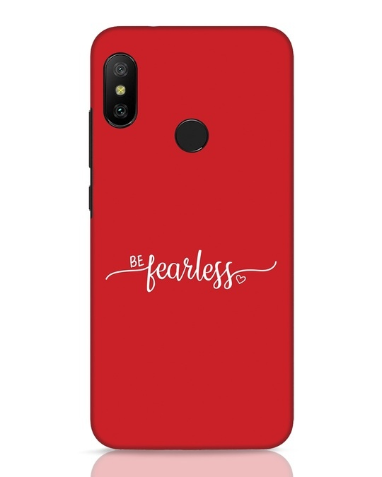 Shop Be Fearless Xiaomi Redmi Note 6 Pro Mobile Cover-Front