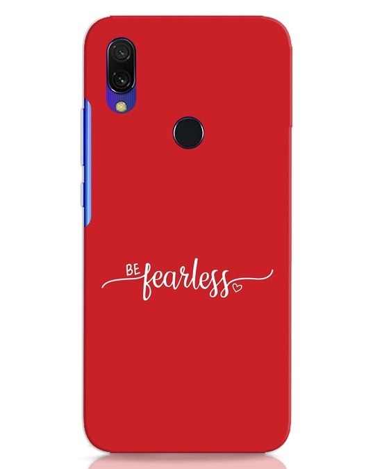 Shop Be Fearless Xiaomi Redmi Y3 Mobile Cover-Front