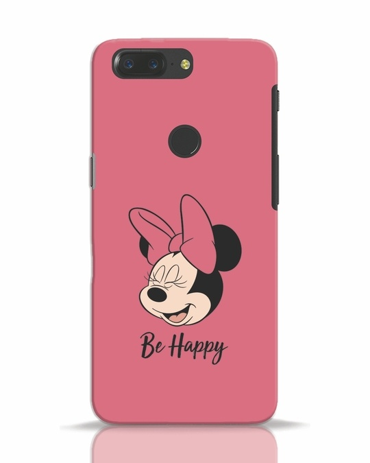 Shop Be Happy OnePlus 5T Mobile Cover-Front