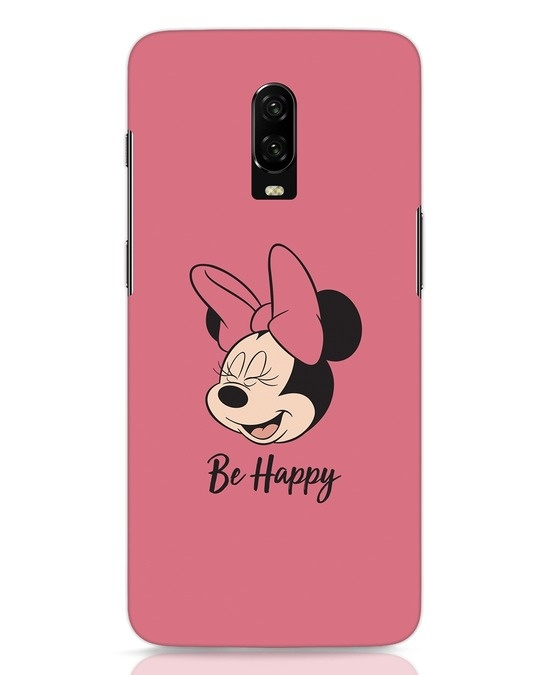 Shop Be Happy OnePlus 6T Mobile Cover-Front