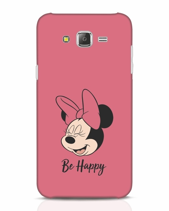 Shop Be Happy Samsung Galaxy J7 Mobile Cover-Front