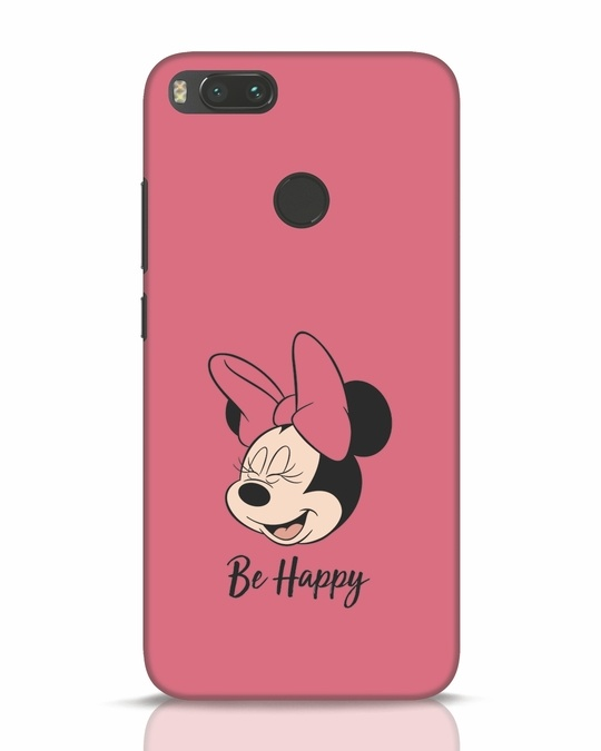Shop Be Happy Xiaomi Mi A1 Mobile Cover-Front
