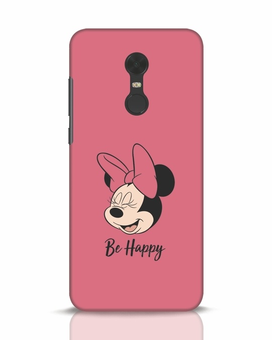 Shop Be Happy Xiaomi Redmi Note 5 Mobile Cover-Front