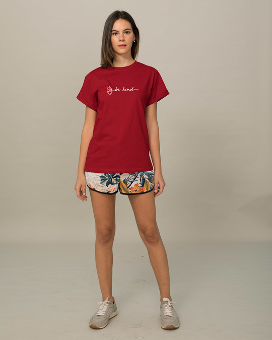 Shop Be Kind Flower Boyfriend T-Shirt