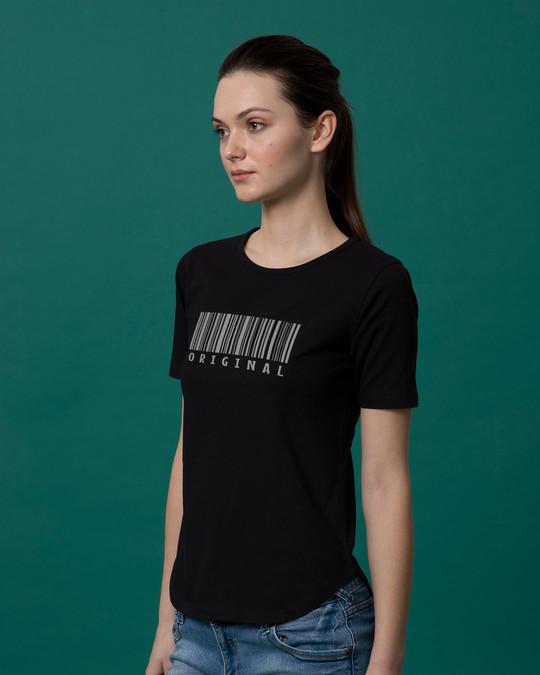Shop Be Original Basic Round Hem T-Shirt-Back