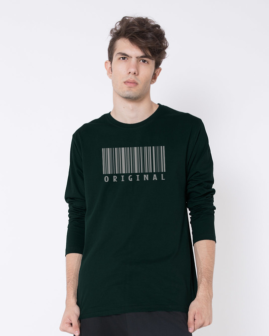 Shop Be Original Full Sleeve T-Shirt-Front