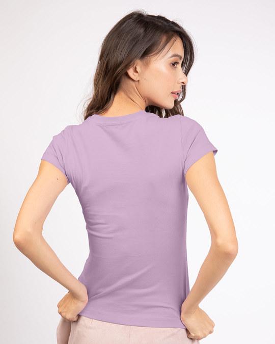 Shop Be Positive Lipstick Half Sleeve T-shirt-Back