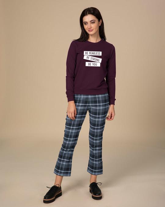Shop Be Strong Be You  Sweatshirt-Design