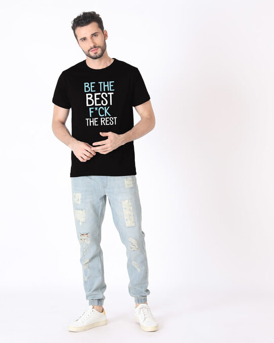 Shop Be The Best Half Sleeve T-Shirt