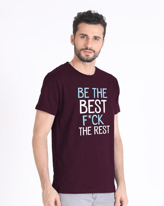 Shop Be The Best Half Sleeve T-Shirt-Full