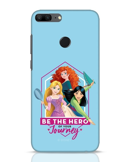 Shop Be The Hero Huawei Honor 9 Lite Mobile Cover (DL)-Front