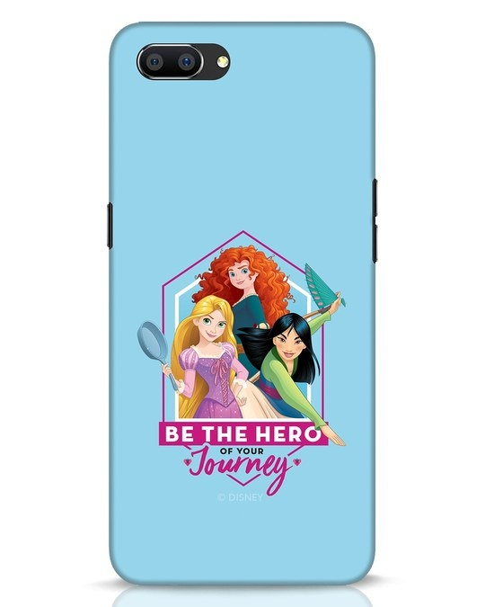 Shop Be The Hero Realme C1 Mobile Cover (DL)-Front