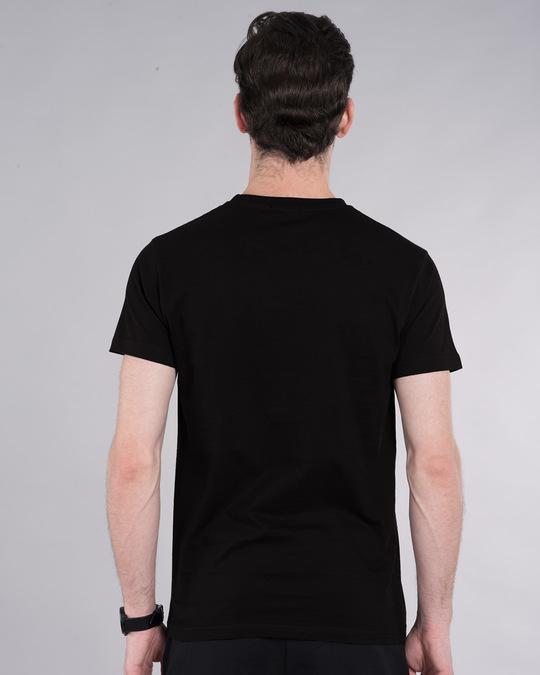 Shop Be Unique Barcode Half Sleeve T-Shirt (GID)-Design