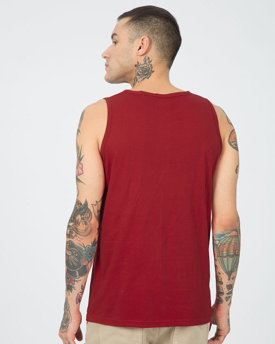 Shop Be Unique Barcode Vest (GID)-Back