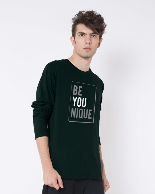 Shop Be Unique Full Sleeve T-Shirt-Back