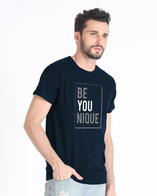 Shop Be Unique Half Sleeve T-Shirt-Design