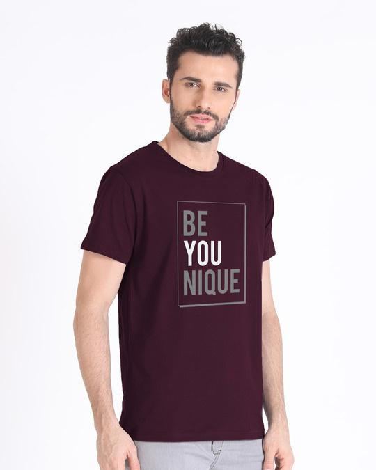 Shop Be Unique Half Sleeve T-Shirt-Full