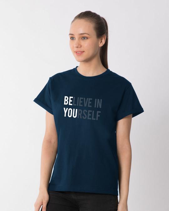 Shop Be You Boyfriend T-Shirt-Back
