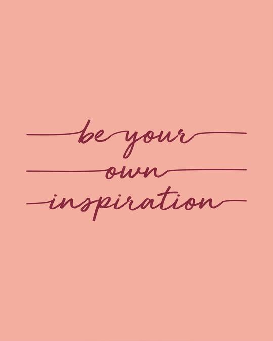 Shop Be Your Own Inspiration Boyfriend T-Shirt-Full