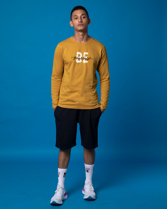Shop Be Yourself Full Sleeve T-Shirt