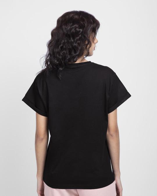 Shop Be Yourself Mickey Boyfriend T-Shirt (DL)-Back