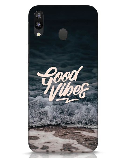 Shop Beach Vibes Samsung Galaxy M20 Mobile Cover-Front