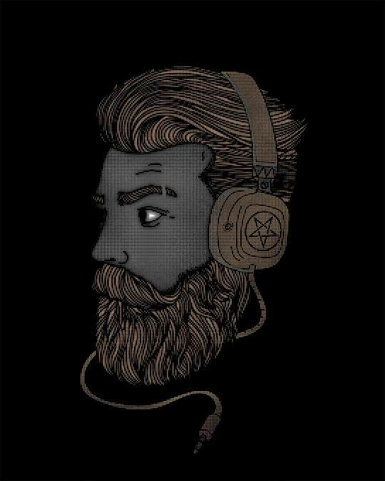 Shop Beard Bro Boyfriend T-Shirt
