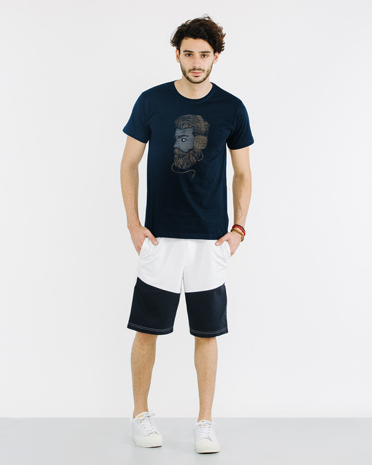 Shop Beard Bro Half Sleeve T-Shirt