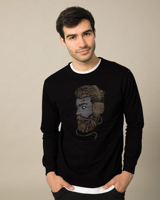 Shop Beard Bro Sweatshirt-Back