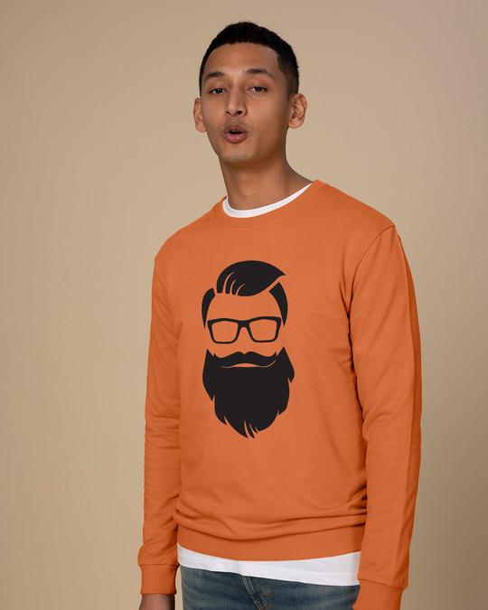 Shop Beard Man Sweatshirt-Back