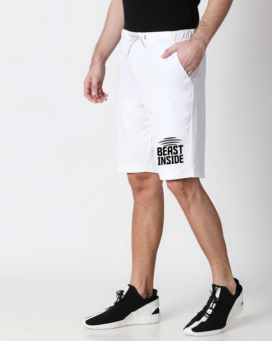 Shop Beast Inside Casual Shorts-Back