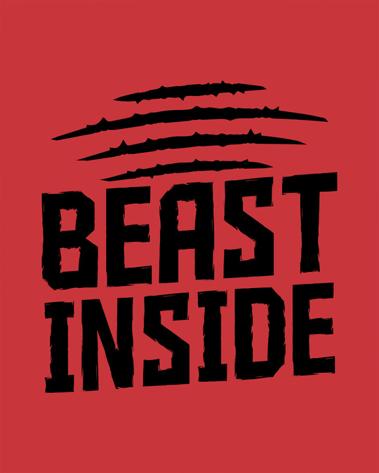 Shop Beast Inside Side Printed Boxer