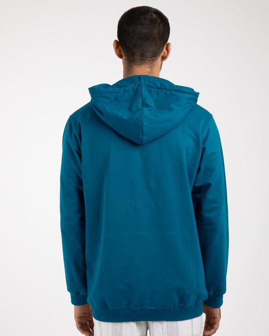 Shop Beast Is Unleashed Fleece Hoodies-Back