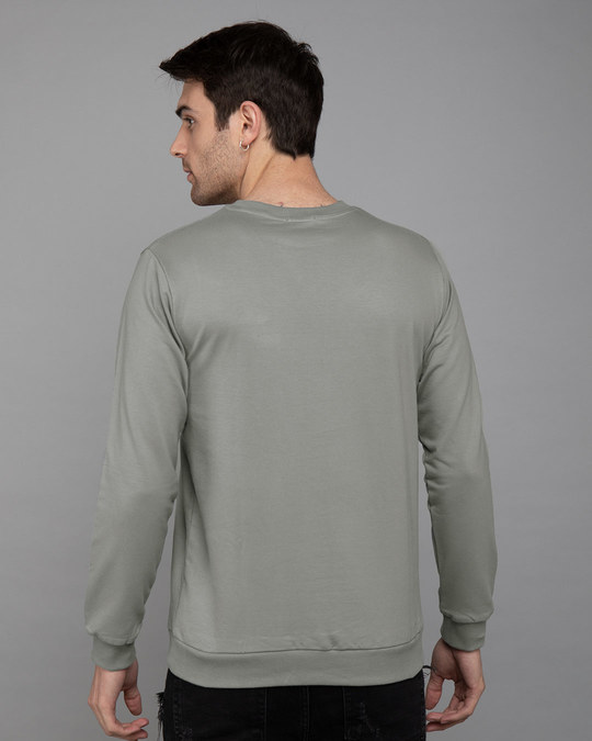 Shop Beast Is Unleashed Fleece Light Sweatshirt-Back