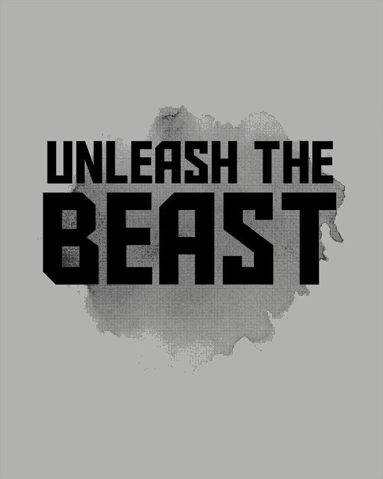 Shop Beast Is Unleashed Full Sleeve T-Shirt