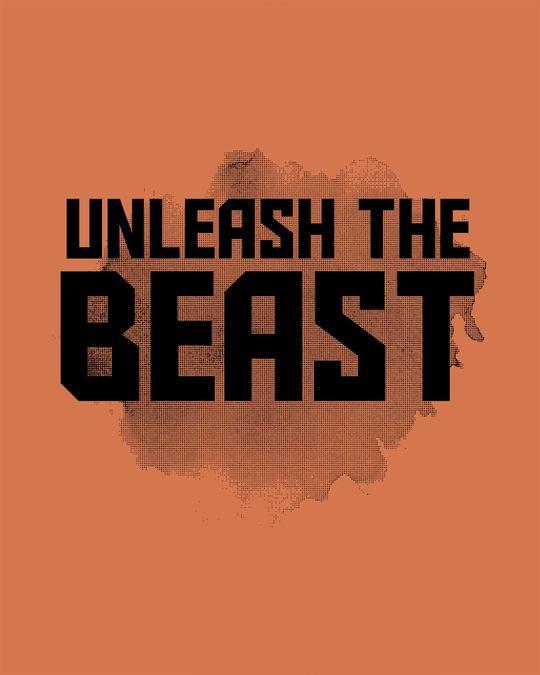 Shop Beast Is Unleashed Full Sleeve T-Shirt-Full