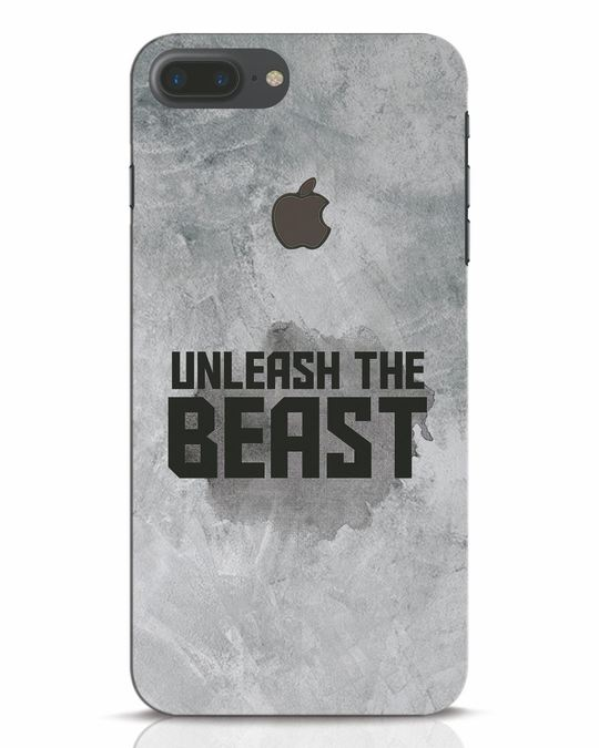 Shop Beast Is Unleashed iPhone 7 Plus Logo Cut Mobile Cover-Front