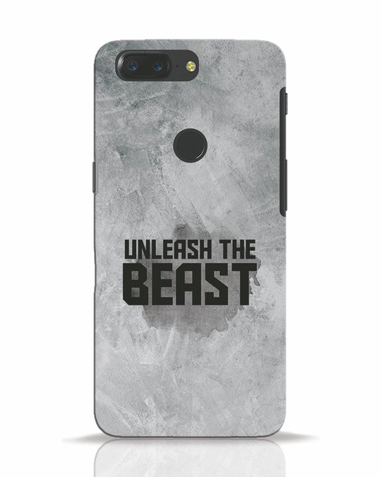Shop Beast Is Unleashed OnePlus 5T Mobile Cover-Front