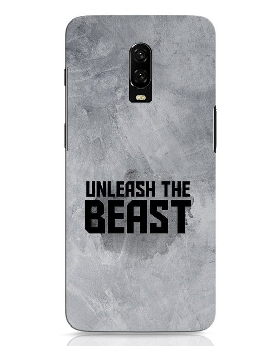Shop Beast Is Unleashed OnePlus 6T Mobile Cover-Front