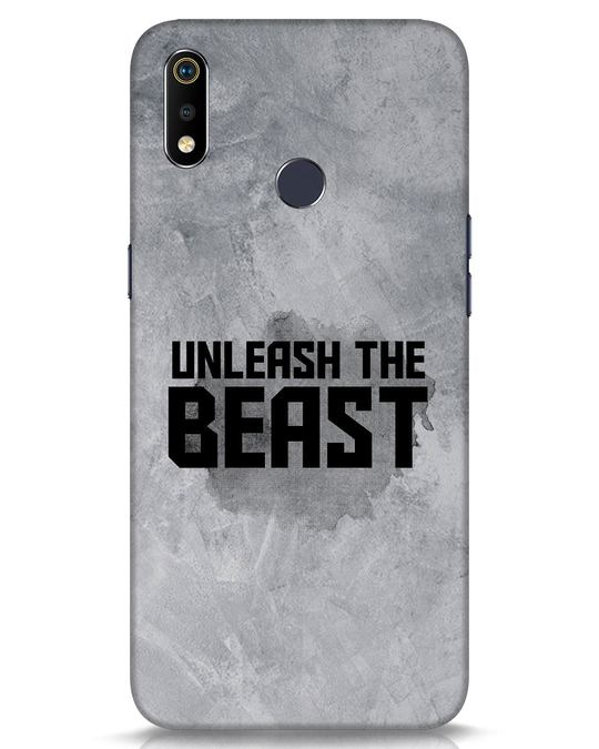 Shop Beast Is Unleashed Realme 3i Mobile Cover-Front