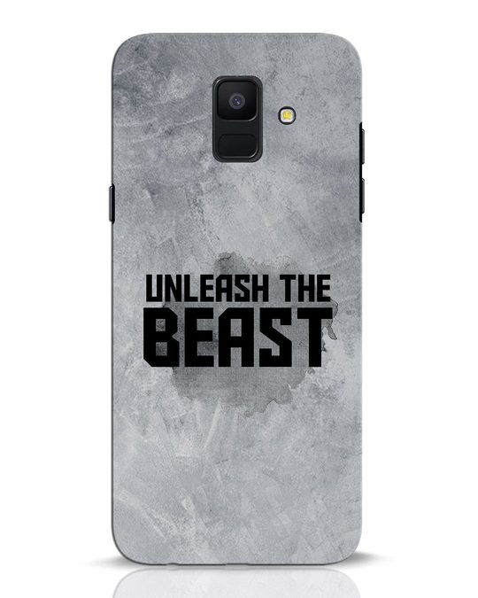 Shop Beast Is Unleashed Samsung Galaxy A6 2018 Mobile Cover-Front