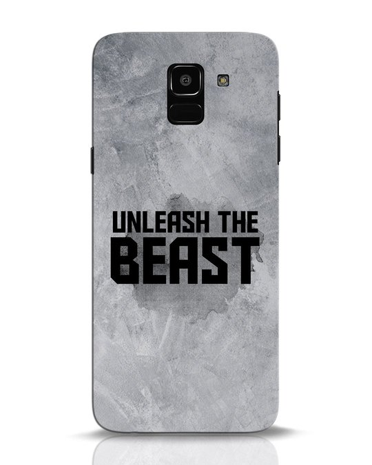 Shop Beast Is Unleashed Samsung Galaxy J6 Mobile Cover-Front