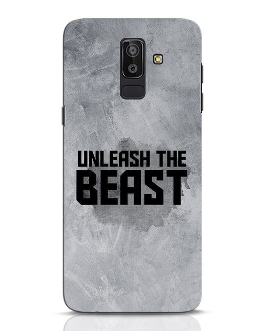 Shop Beast Is Unleashed Samsung Galaxy J8 Mobile Cover-Front