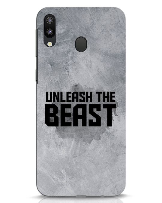 Shop Beast Is Unleashed Samsung Galaxy M20 Mobile Cover-Front