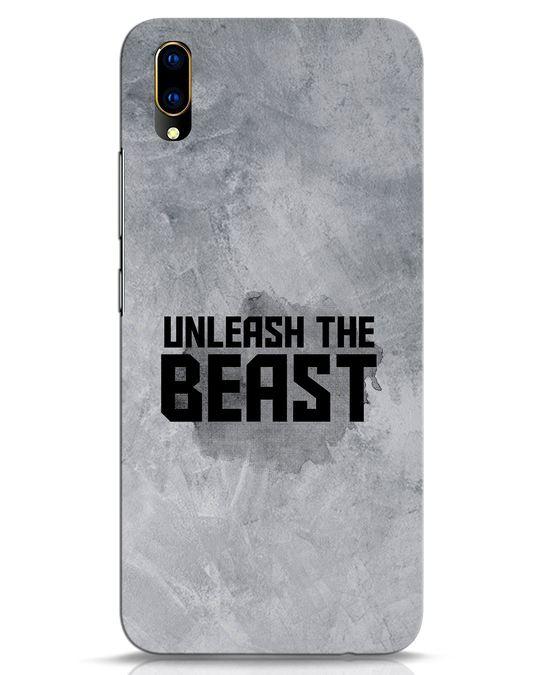 Shop Beast Is Unleashed Vivo V11 Pro Mobile Cover-Front