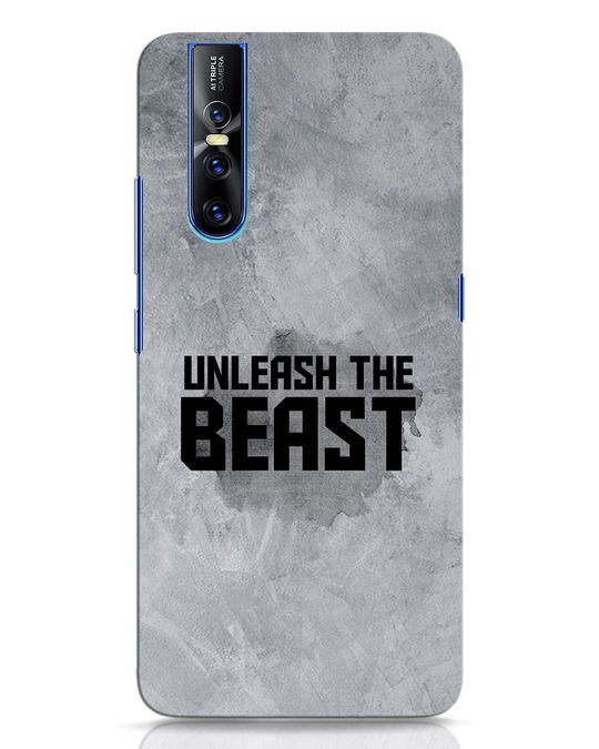 Shop Beast Is Unleashed Vivo V15 Pro Mobile Cover-Front