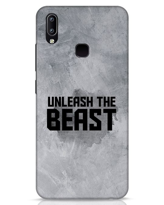 Shop Beast Is Unleashed Vivo Y91 Mobile Cover-Front