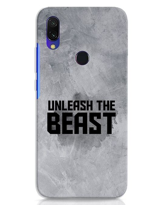 Shop Beast Is Unleashed Xiaomi Redmi 7 Mobile Cover-Front