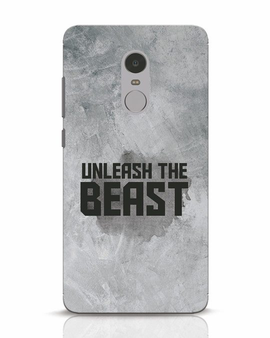 Shop Beast Is Unleashed Xiaomi Redmi Note 4 Mobile Cover-Front